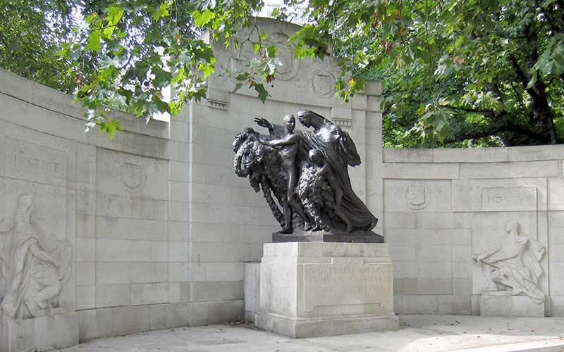 Belgian Monument to the British Nation